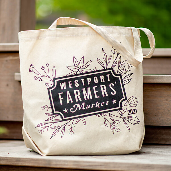 Westport Farmers' Market Bag